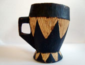 wooden cup from Somalia